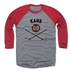Patrick Kane Sticks K Chicago Officially Licensed NHLPA Baseball T-Shirt Unisex S-3XL