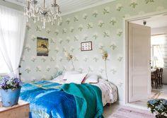 Onko romanttinen makuuhuone mieleesi? Katso Unelmien Talo&Kodin 10 ihanaa ratkaisua oikeista kodeista ja inspiroidu!