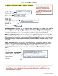 resume and cover letter writing for college career readiness - Resume Writing Sample