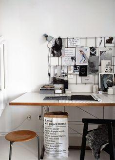 Scandinavian-home-office.-Le-Sac-en-Papier-paper-bag.-from-Stilinspiration.jpg (650×905)