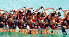 Dragon boat paddling positions for sexual health