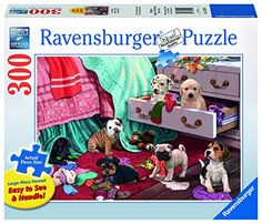 Ravensburger Mischief Makers Large Format Jigsaw Puzzle 300 Piece -- You can get more details by clicking on the image.