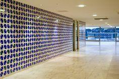 Palácio do Planalto - Painéis com azulejos de Athos Bulcão / Oscar Niemeyer