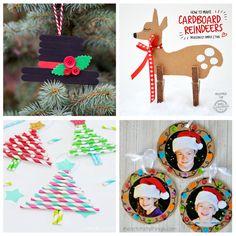 manualidades-navidad-niños Kids Christmas, Christmas Tree Ornaments, Merry Christmas, Xmas, Toy Craft, Craft Box, Winter Activities, Toddler Activities, Paper Toys
