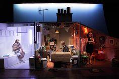 Le décor plutôt incroyable du spectacle !  BIGRE du 25 au 29 Novembre 2014 au Théâtre de la Croix-Rousse.