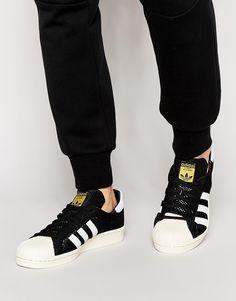 adidas Originals Superstar 80s Primeknit Trainers S82780 Run Dmc, Adidas Originals, Superstar, Trainers, Latest Trends, Adidas Sneakers, Asos, Running, Stuff To Buy