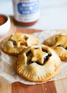 Star Empanadas + 4 Uses for Pie Dough other than pie! | bakeat350.blogspot.com