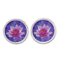 Pink lotus flower - the flower associated with the crown and the unfolding of a thousand petals Pink Lotus, Lotus Flower, Crown Chakra, The Crown, Cufflinks, Make It Yourself, Flowers, Florals, Wedding Cufflinks