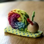 Love this easy project for my 5yo crocheting addict!