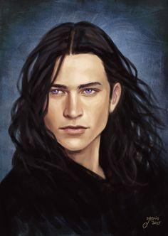 Yvad Trevelyan by slugette on DeviantArt (pretty, pretty Inquisitor boy... <3 )