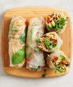 It's almost SPRING roll season! (get it?)
