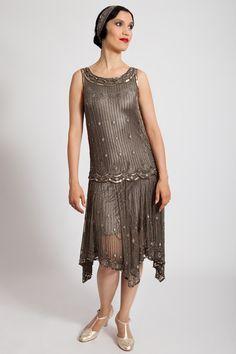 1920s Style Dresses, Flapper Dresses VALESKA
