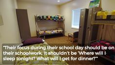 This town built a homeless shelter. For school kids.