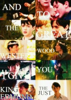 King Edmund from Narnia