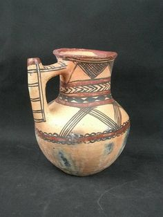 TRÉS Belle Cruche Poterie Berbere Ancienne | eBay