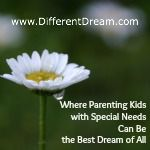 DifferentDream.com is a gathering place for parents of special needs children. Dads and moms in the hospital with seriously or terminally ill kids feel isolated. So do parents whose children live with mental disabilities or chronic illnesses