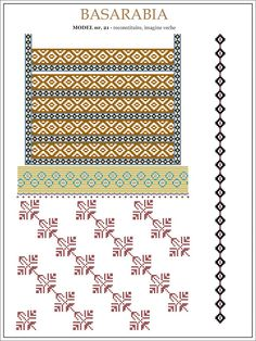 See the source image Embroidery Sampler, Folk Embroidery, Embroidery Patterns, Cross Stitch Patterns, Hama Beads, Beading Patterns, Pixel Art, Diy And Crafts, Shabby