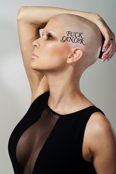 Cancer awareness photoshoot with cancer survivor Michele. Makeup by me. Photographer Backhousestudios.com