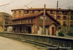 Neguriko tren geltokia / Estación del ferrocarril de Neguri, 1985 (ref. 02650)