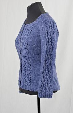 Ravelry: Cloud Everyday Cardigan FREE knitting pattern by Vera Sanon