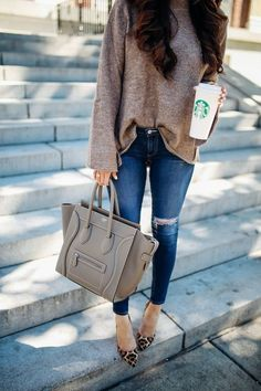 SWEATER: Zara (similar styles HERE & HERE - I have of those!)…