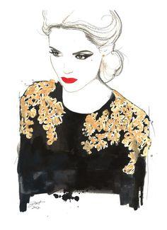 All that glitters is not gold - illustration - Jessica Durrant (Etats-Unis)