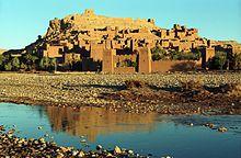 Marruecos Ksar de Ait Ben Hadu, asentamiento construido por los bereberes desde el siglo XIV.