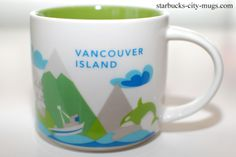 Starbucks 'You Are Here' - Vancouver Island!