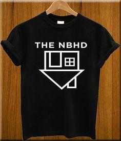 the neighbourhood shirt the nbhd tshirt Black Screenprint