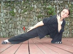 My idol Lucia Ring Watkins who studies and teaches Wudang Tai Chi and Qi Gong on Lisa Loves Life Lessons