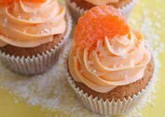 Orange Slice Cupcakes