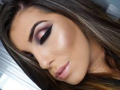 Maquiagem Pálpebra Luz (Sugestão Noivas) - YouTube