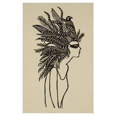 Check out this item at One Kings Lane! Jennifer Ament, Bird in Hair