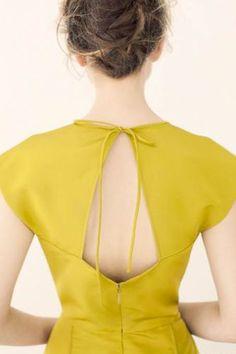 Nice back design: