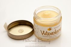 Waxelene All Natural Petroleum Jelly Alternative Review | http://naturalbeautylifestyle.com/natural-beauty-product-reviews/waxelene-petroleum-jelly-alternative/