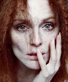 """""""The Fairest of them All"""" Julianne Moore by Inez and Vinoodh for T Mag"""