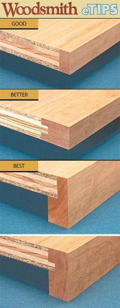 Build Super Strong Shelves (from plywood but with concealed edges). Build Super Strong Shelves (from plywood but with concealed edges). The post Build Super Strong Shelves (from plywood but with concealed edges). appeared first on Woodworking Diy. Woodworking Joints, Woodworking Techniques, Woodworking Bench, Fine Woodworking, Woodworking Projects, Woodworking Organization, Youtube Woodworking, Woodworking Patterns, Woodworking Articles