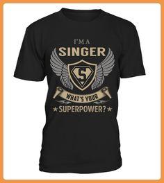 SINGER Superpower Name Shirts (*Partner Link)