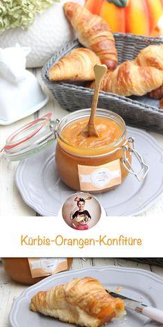 Pumpkin and orange jam recipe. Perfect for fall! With fresh pumpkin . Fall Recipes, Sweet Recipes, Drink Recipes, Orange Jam Recipes, Pumpkin Jam, Breakfast Photography, Sweet Bakery, Breakfast Dishes, Pumpkin Breakfast