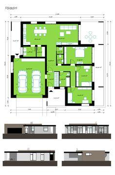Floor plan House Layout Plans, Small House Plans, House Layouts, Building Layout, Building Design, Building A House, Villa Plan, Minimalist House Design, Modern House Design