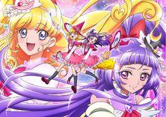 a web oficial del nuevo anime de la franquicia Precure (Pretty Cure), Mahou…