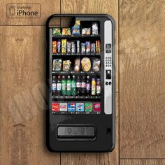 Snack Vending Machine Plastic Phone Case For iPhone 6 Plus More Style For iPhone 6/5/5s/5c/4/4s