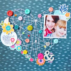 Me & You by @paigeevans #scrapbooking