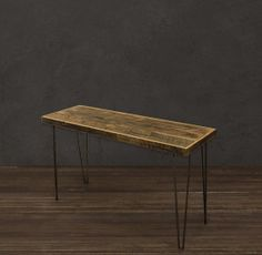 reclaimed end table | Reclaimed Wood Display, Hall, End Table