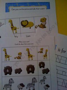 Noah's Ark Printable
