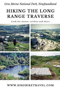 Hiking the Long Range Traverse in Gros Morne National Park, Newfoundland. You need to pass a navigation test! Beautiful Places To Visit, Cool Places To Visit, Gros Morne, Canada National Parks, Thru Hiking, Visit Canada, Best Hikes, Ultimate Travel, Newfoundland