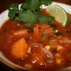 Spicy Chicken and Sweet Potato Stew - Allrecipes.com