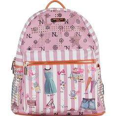 "Nicole Lee Quinn Backpack - ""Doll House Express."""