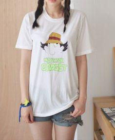 NSPECTOR GADGET Print Longline T-shirt
