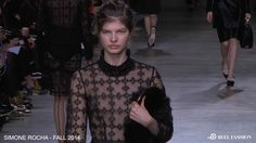 Simone Rocha Fall/Winter 2014-15 | From the Runway at London Fashion Week | Full show video available on ReelFashion.TV